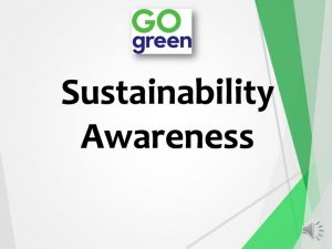 Sustainability Presentation March 2021